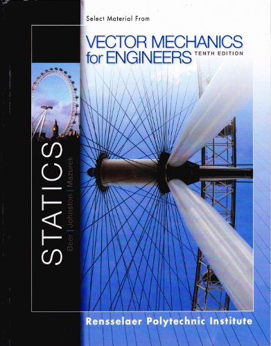 9780077775629: Vector Mechanics for Engineers 10th Editiion