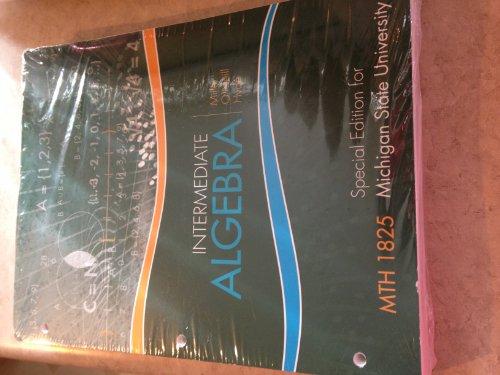 9780077776053: Intermediate Algebra- Special Edition for Michigan State University