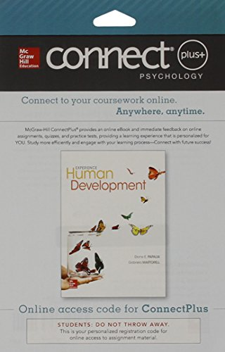 9780077776275: Connect Access Card for Experience Human Development
