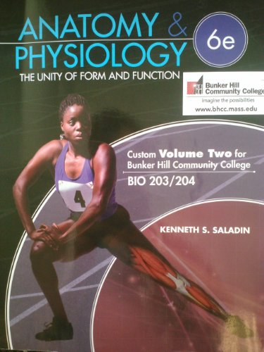 9780077776398: Anatomy & Physiology - 6th Edition - Volume 2 for Bunker Hill Community College (The unity of form and function)