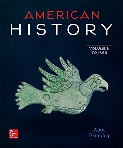 9780077776756: American History: Connecting with the Past Volume 1