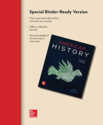 9780077776831: Looseleaf for American History: Connecting with the Past Volume 1