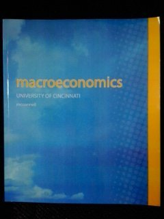 9780077777500: Macroeconomics (19th Edition) with ConnectPlus Code - Custom for the University of Cincinnati