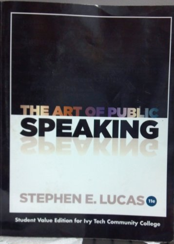 9780077778026: The Art of Public Speaking - Ivy Tech