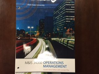 9780077778750: Operations Management (11e) [Kent State University M&IS 34060] (Student Value Edition with Connect Plus)