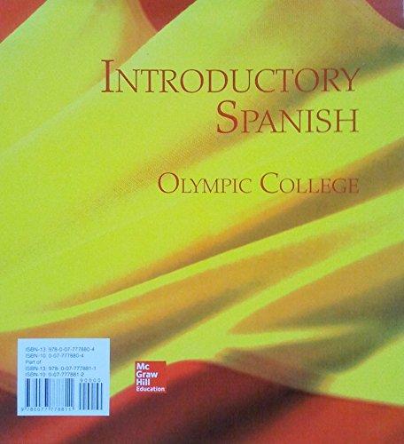 9780077778811: Span 121: Spanish 1-2 (includes Workbook/Laboratory Manuals for Puntos De Partida)