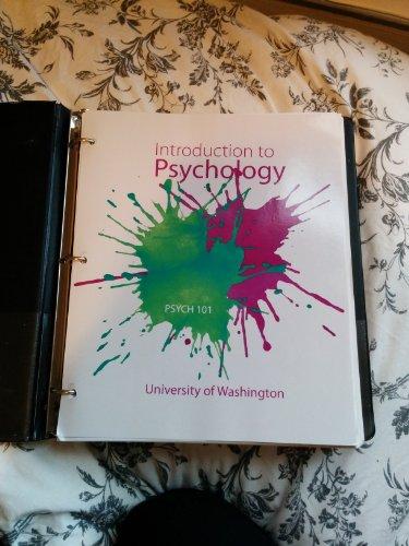 9780077778828: Introduction to Psychology (Psych 101: University of Washington)