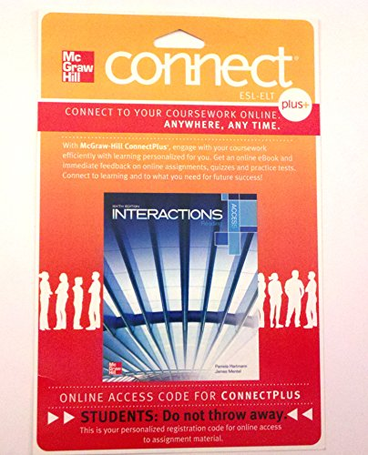 9780077783020: Connect Access Card for Interactions Access Reading
