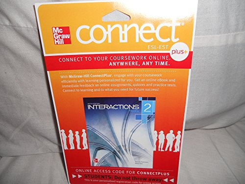 9780077783068: Connect Plus Access Card for Interactions 2 Reading