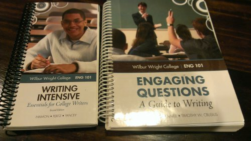 9780077783631: Engaging Questions: A Guide to Writing (Wilbur Wright College English 101)
