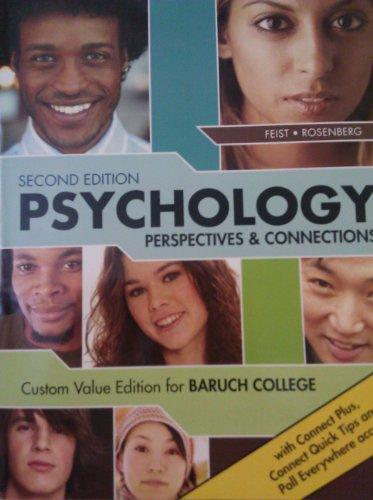 9780077783921: Psychology: Perspectives & Connections (Custom Value Edition for Baruch College)