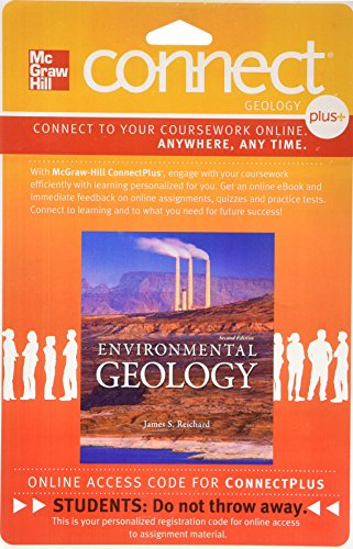 9780077786878: Connect Plus Geology 1 Semester Access Card for Environmental Geology