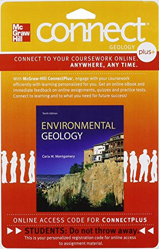 9780077791735: Connect Plus Geology 1 Semester Access Card for Environmental Geology
