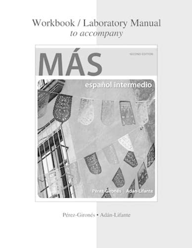 9780077797003: Workbook/Laboratory Manual to accompany MÁS