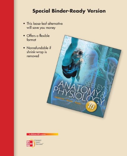 9780077798123: Loose Leaf Version for Seeley's Anatomy and Physiology