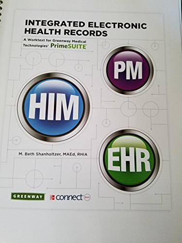 9780077798147: Integrated Electronic Health Records