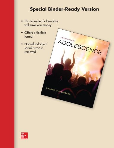 9780077798291: Looseleaf for Adolescence