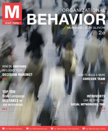 9780077801960: M: Organizational Behavior with Connect Plus