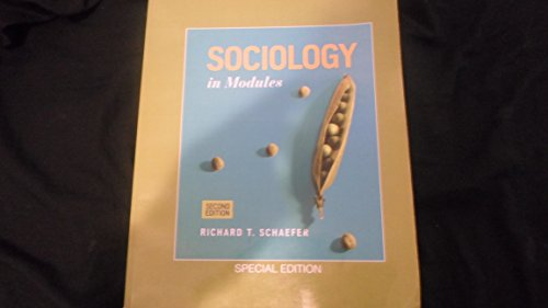 9780077802899: Sociology in Modules