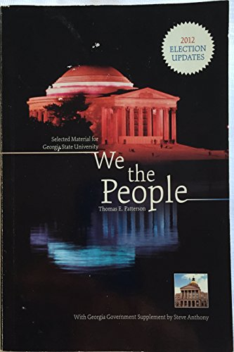 9780077804183: We the People