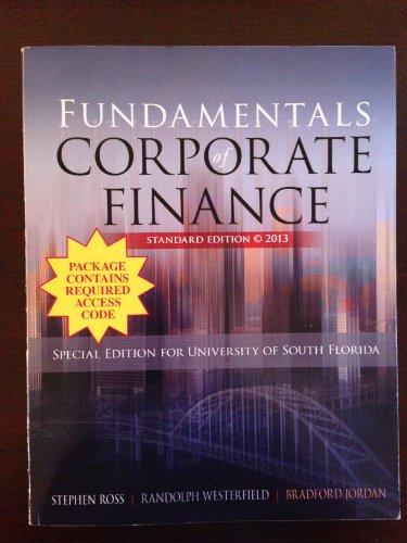 9780077804503: Fundamentals of Corporate Finance