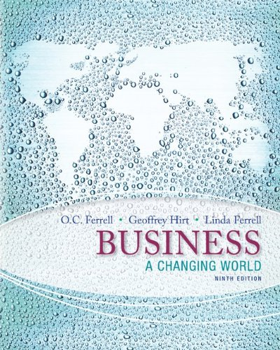 9780077804763: Business: A Changing World with Connect Access Card