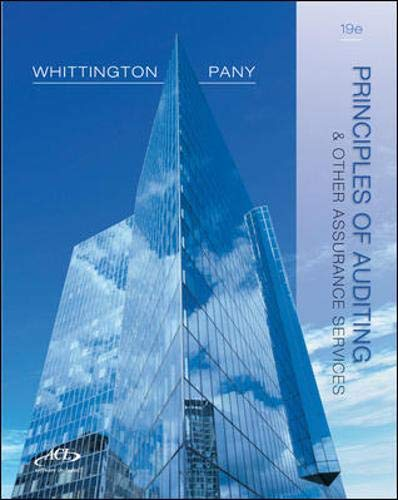 9780077804770: Principles of Auditing and Other Assurance Services, 19th Edition (Irwin Accounting)