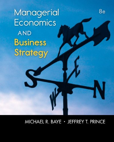 9780077804800: Managerial Economics & Business Strategy with Connect Access Card (The Mcgraw-hill Series Economics)
