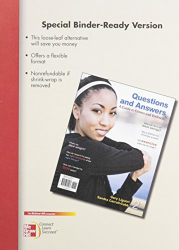9780077804848: LL Questions and Answers: A Guide to Fitness and wellness