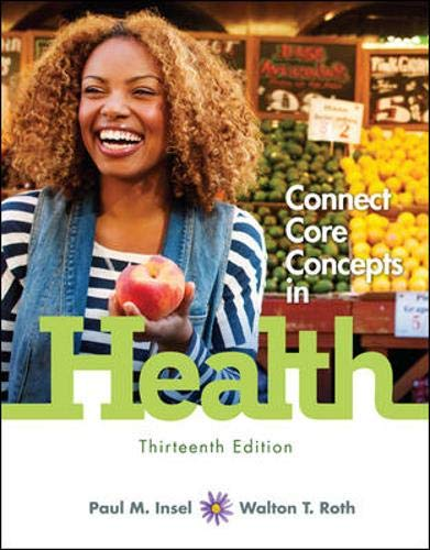 9780077805081: Looseleaf for Core Concepts in Health, Brief with Connect Access Card