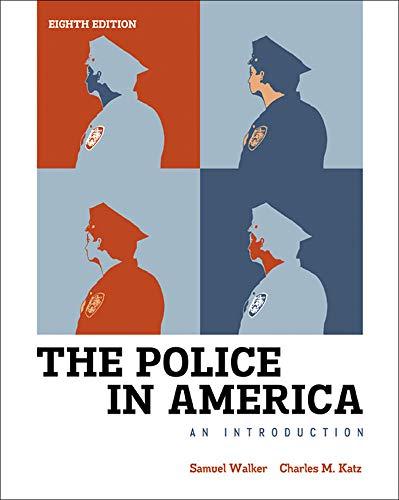 9780077805548: LL Walker, Police in America