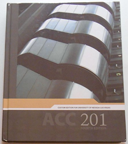 9780077808808: ACC 201 4th Edition - Custom Edition for UNLV - Financial Accounting