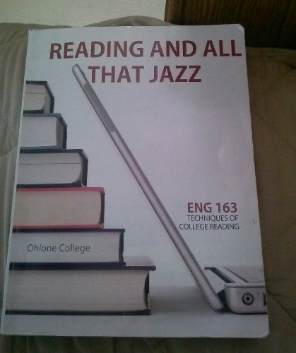 9780077809492: Reading and All That Jazz Eng 163 Techniques of College Reading