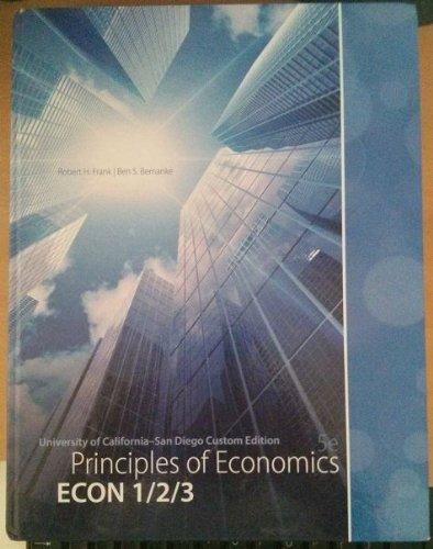 9780077809843: Principles of Economics, 5th Edition UCSD Custom Edition