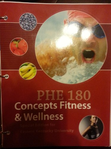 9780077809980: PHE 180 Concepts Fitness & Wellness
