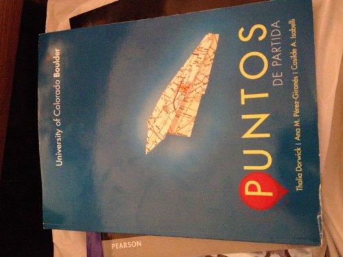 9780077812478: Puntos De Partida Custom Edition for University of Colorado Boulder