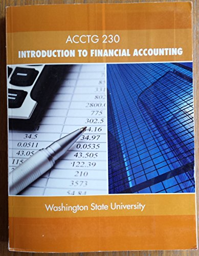9780077813666: Acctg 230: Introduction to Financial Accounting