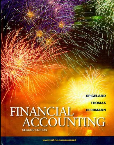 9780077813703: Financial Accounting Second Edition (Book Only)