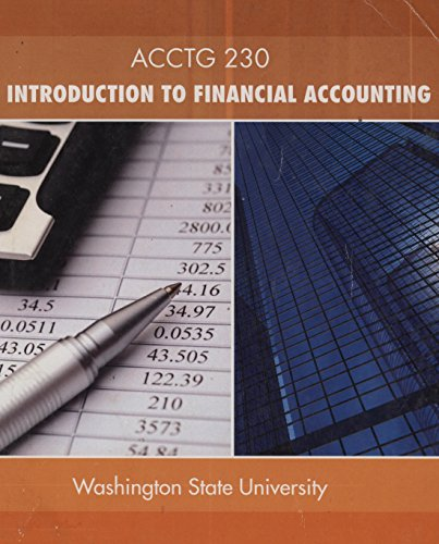 9780077815035: ACCTG 230 Introduction to Financial Accounting