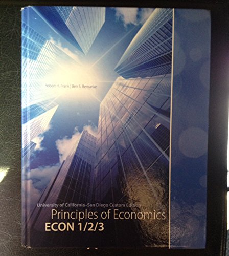 9780077815653: Principles of Economics (5th Edition) Ucsd Custom Edition with Connect