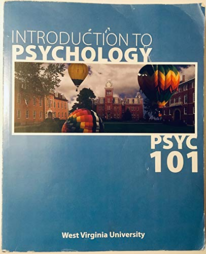 9780077818661: Introduction to Psychology