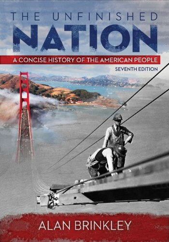 9780077821029: The Unfinished Nation w/ Connect Plus with LearnSmart History 2 Term Access Card