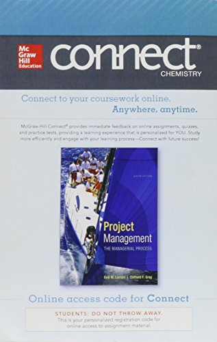 9780077822774: Connect Project Management with LearnSmart 1 Semester Access Card for Project Management, 6e