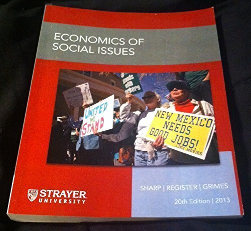 9780077823023: Economics of Social Issues 20th Edition Strayer University 2013