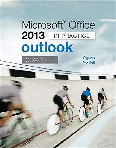 9780077823931: Microsoft Office Outlook 2013 Complete: In Practice (CIT)