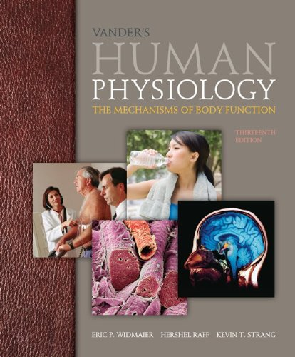 9780077824976: Vander's Human Physiology with Connect Access Card