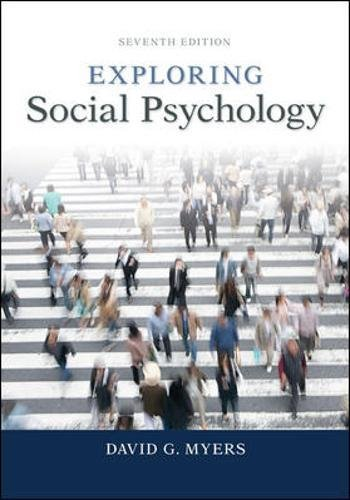9780077825454: Exploring Social Psychology