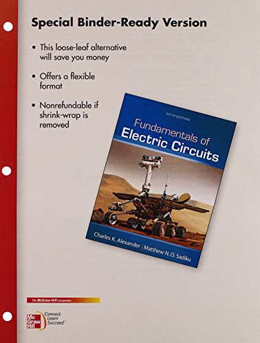 9780077826901: Package: Loose Leaf for Fundamentals of Electric Circuits with 1 Semester Connect Access Card