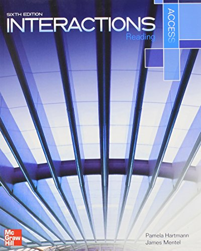 9780077829193: Interactions Access Reading Student Book plus Registration Code for Connect ESL
