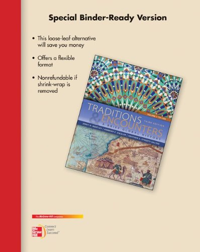 9780077830427: Looseleaf for Traditions & Encounters: A Brief Global History, Volume I